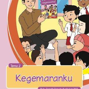 Buku Guru Tema 2 – Kegemaranku Kelas 1