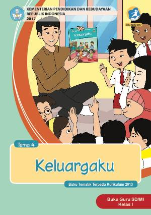 Buku Guru Tema 4 – Keluargaku Kelas 1