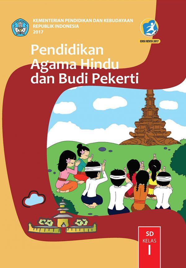 Download Buku Pendidikan Agama Hindu dan Budi Pekerti. buku sekolah kelas 1. Buku belajar kelas 1 SD.