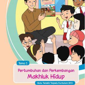 Buku Tema 1 – Pertumbuhan dan Perkembangan Makhluk Hidup Kelas 2