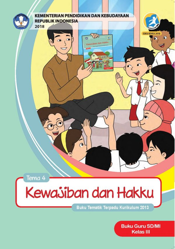 Buku Guru Tema 4 – Kewajiban dan Hakku Kelas 3