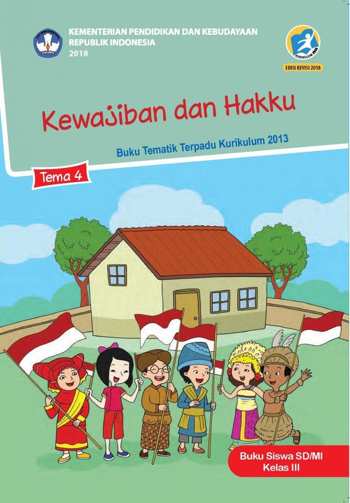 Buku Tema 4 – Kewajiban dan Hakku Kelas 3