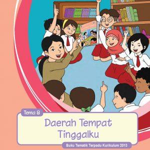 Buku Guru Tema 8 – Daerah Temapat Tinggalku Kelas 4