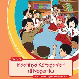 Buku Guru Tema 7 – Indahnya Keragaman di Negeriku Kelas 4