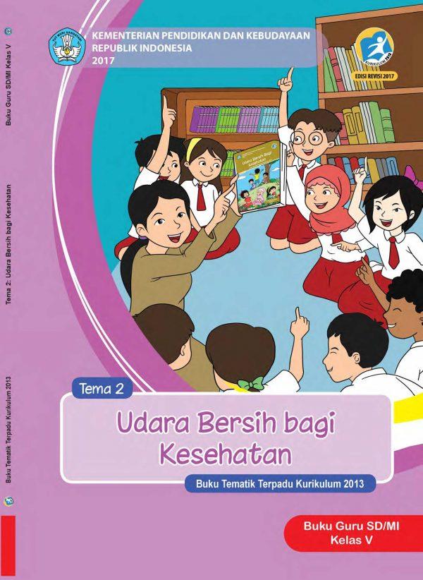 Buku Guru Tema 2 – Udara bersih bagi kesehatan Kelas 5