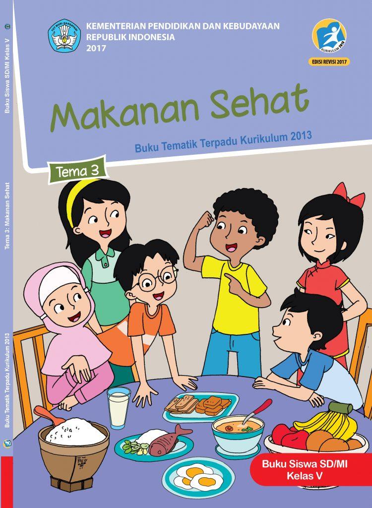 Buku Tema 3 – Makanan Sehat Kelas 5