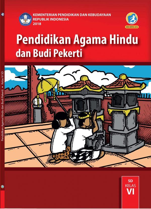 Buku Pendidikan Agama Hindu dan Budi Pekerti Kelas 6