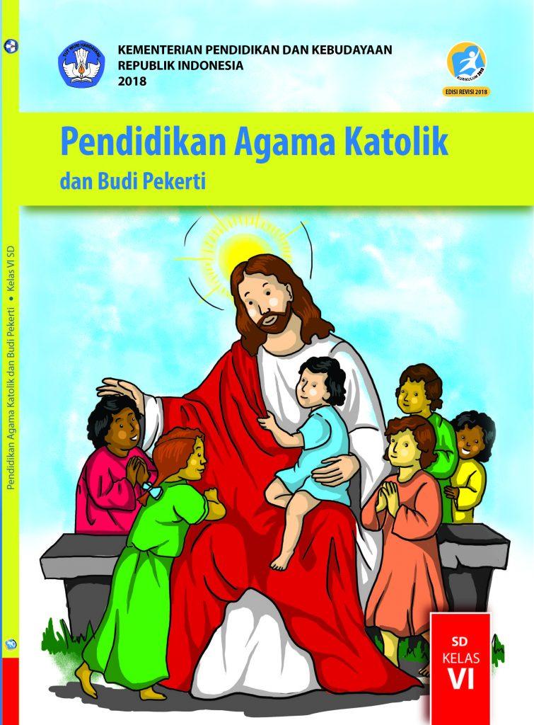 Buku Pendidikan Agama Katolik dan Budi Pekerti Kelas 6