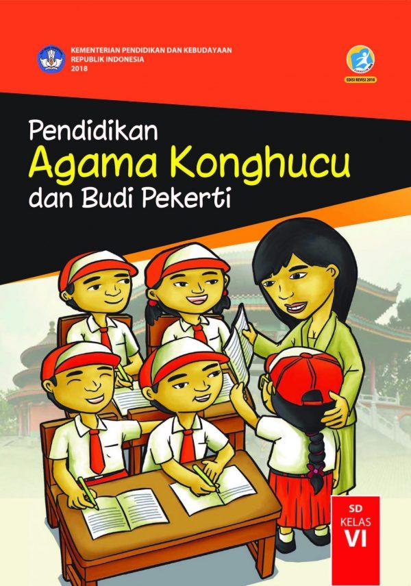 Buku Pendidikan Agama Konghucu dan Budi Pekerti Kelas 6
