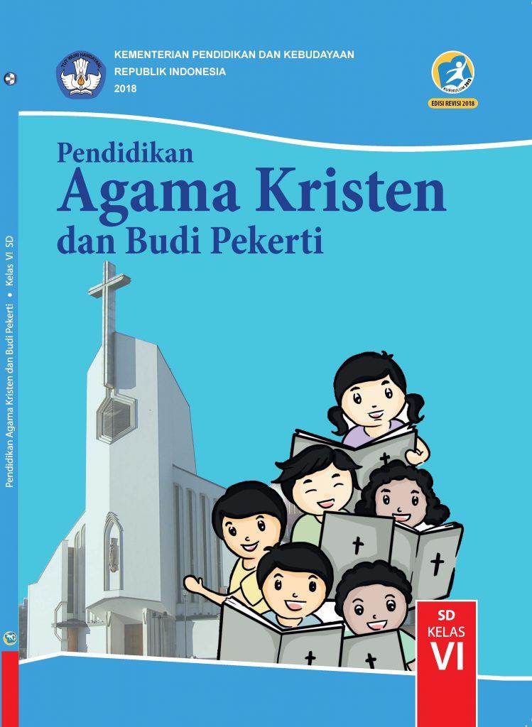 Buku Pendidikan Agama Kristen dan Budi Pekerti Kelas 6