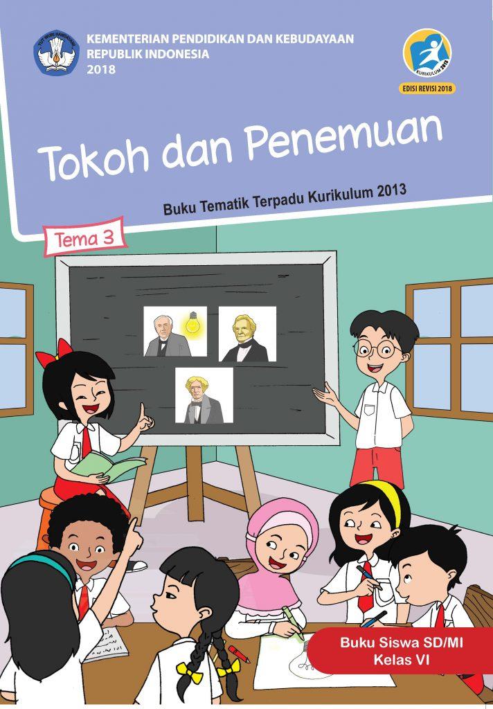 Buku Tema 3 – Tokoh dan Penemuan Kelas 6