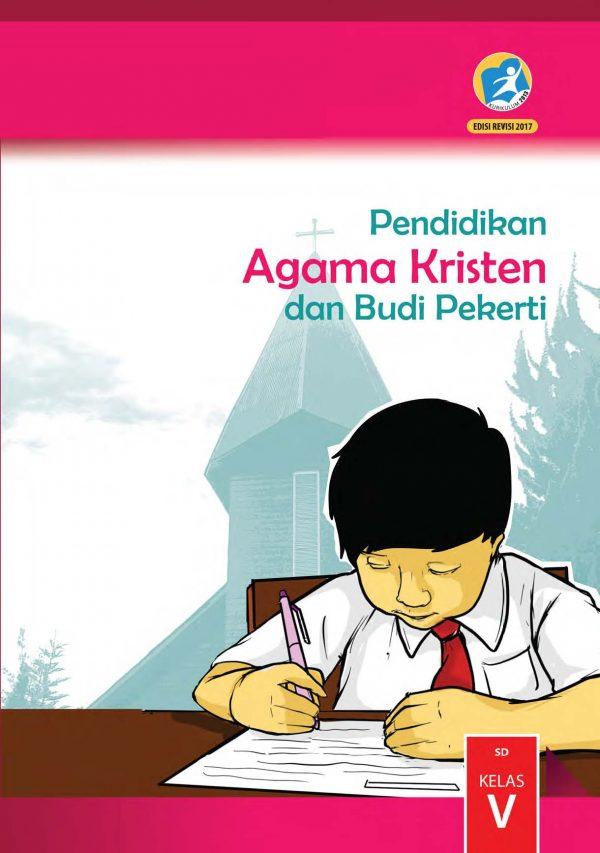 Buku Pendidikan Agama Kristen dan Budi Pekerti Kelas 5