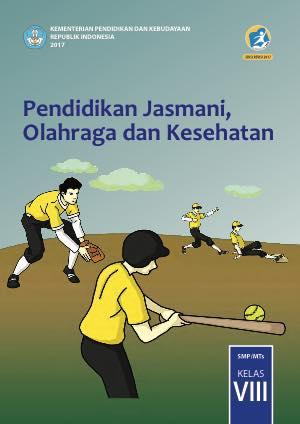 Buku Pendidikan Jasmani, Olahraga dan Kesehatan Kelas 8 SMP
