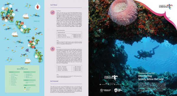10 PRIORITY DESTINATIONS - WAKATOBI NATIONAL PARK