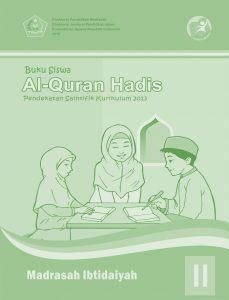 Buku Al-Quran Hadis Kelas 2 MI