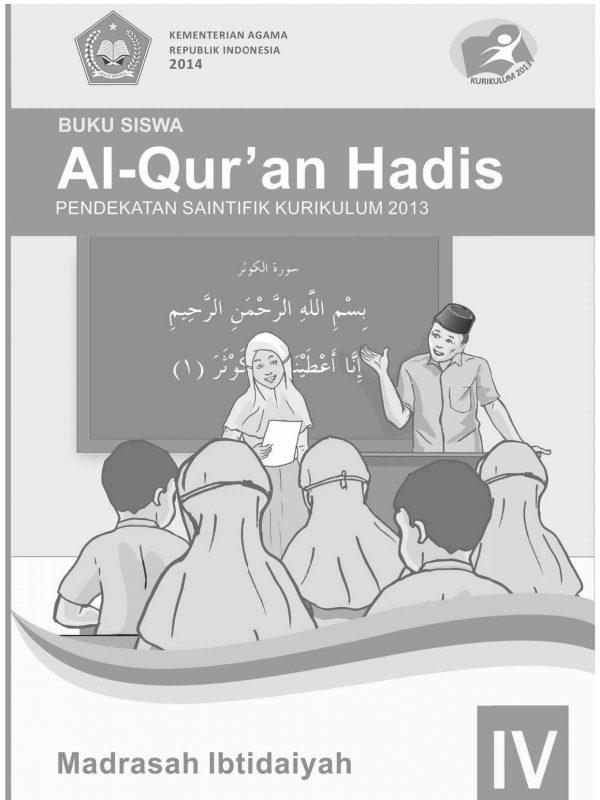 Buku Al-Qur'an Hadis Kelas 4 MI