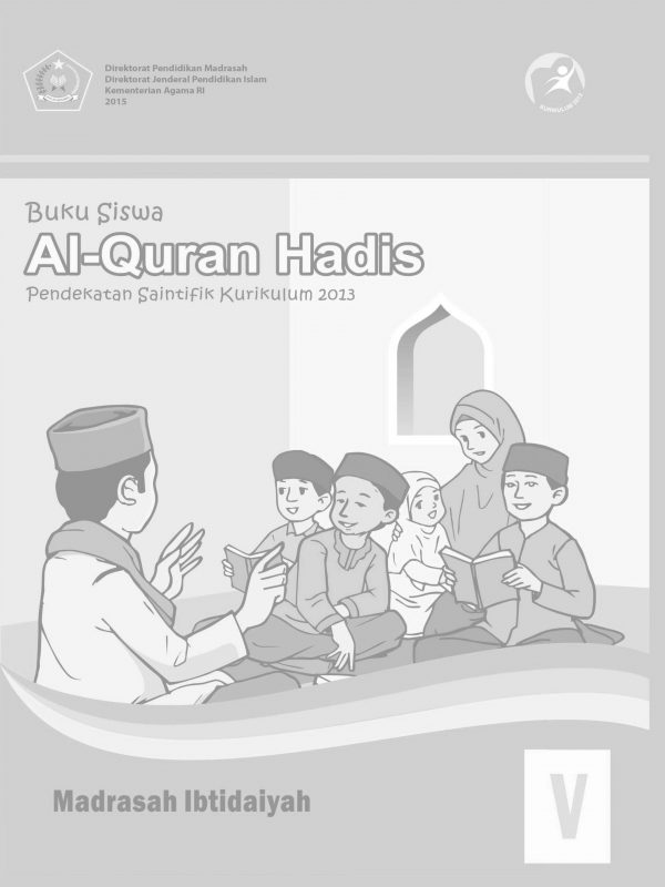 Buku Quran Hadis Kelas 5 MI
