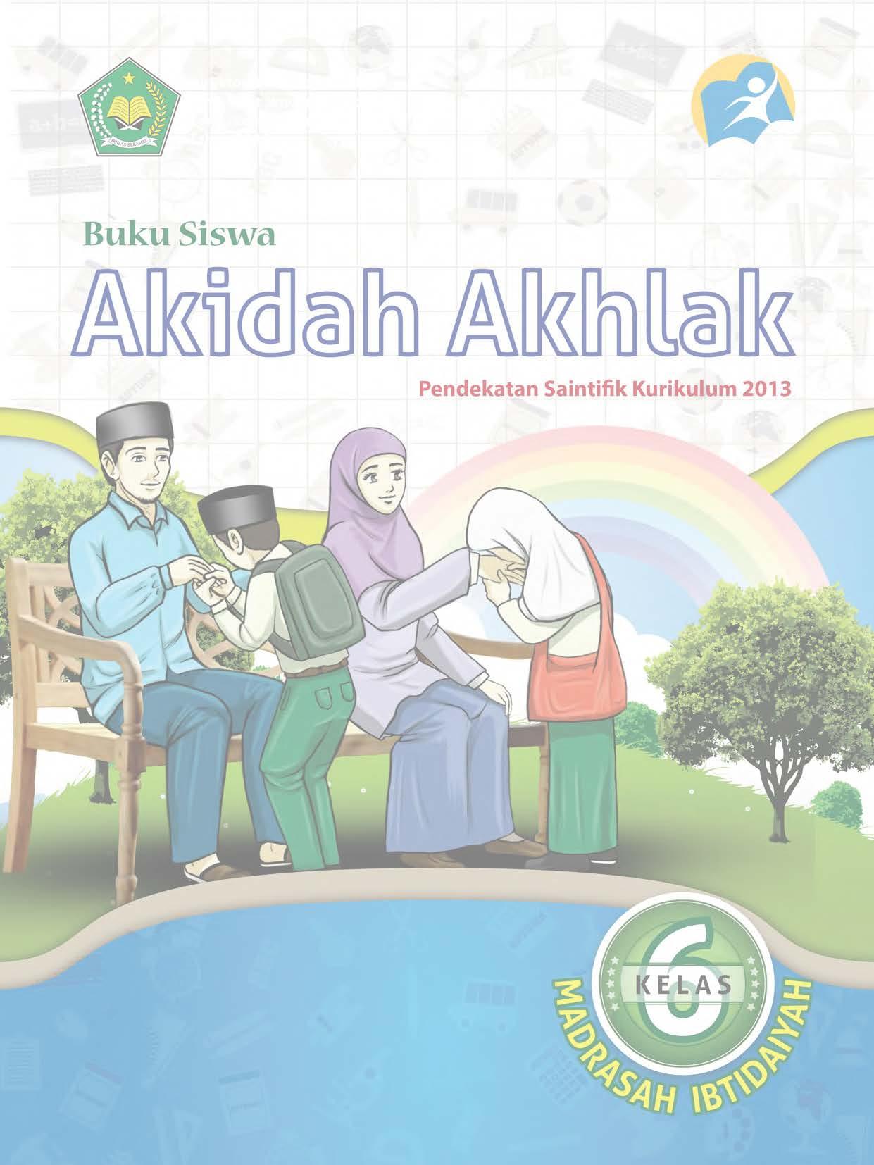 Buku Akidah Akhlak Kelas 6 MI