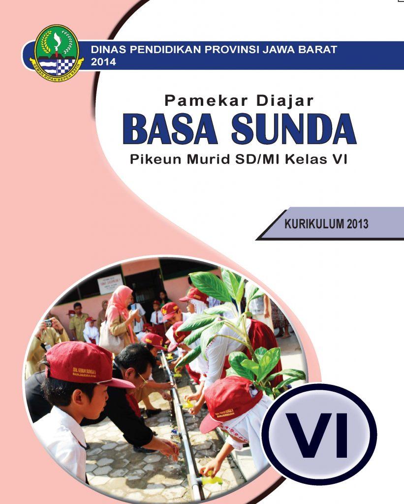 Buku Bahasa Sunda Kelas 6 SD