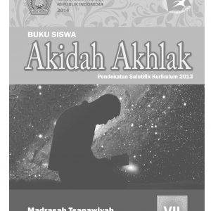 Buku Akidah Akhlak Kelas 8 MTs