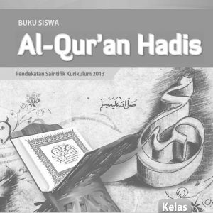 Buku Al Quran Hadis Kelas 8 MTs