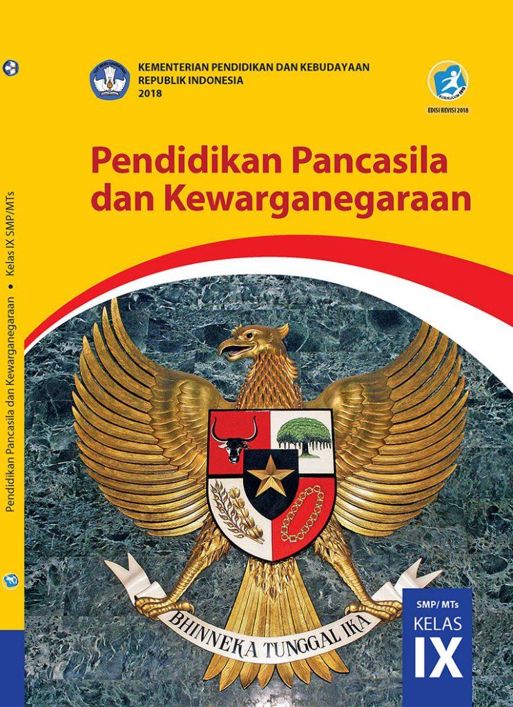 Buku Pendidikan Pancasila dan Kewarganegaraan Kelas 9 SMP