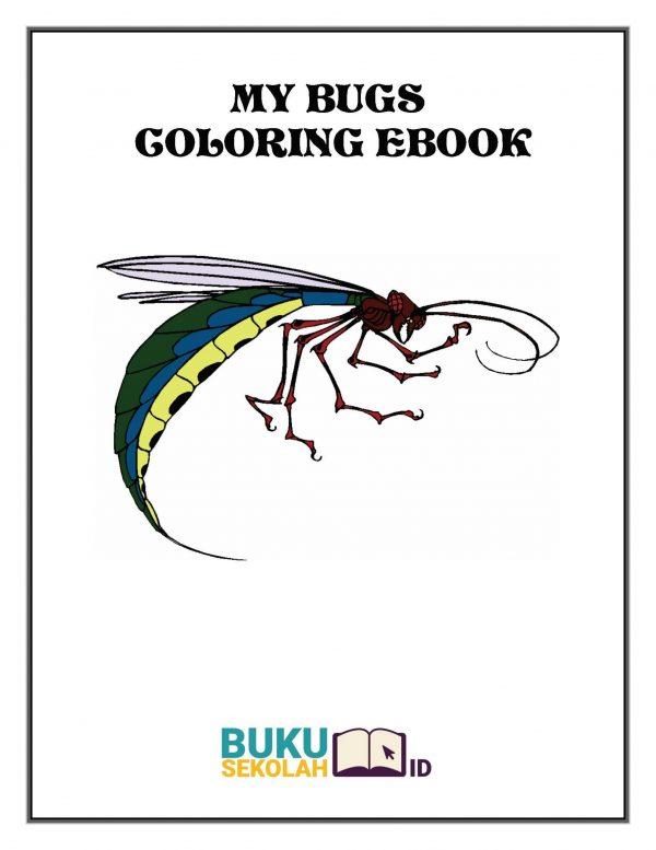 buku mewarnai serangga