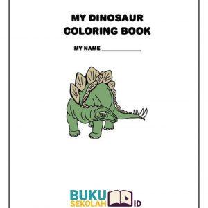 buku Mewarnai Dinosaurus