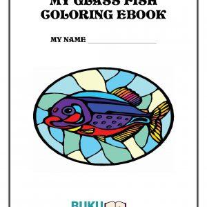 buku Mewarnai Ikan