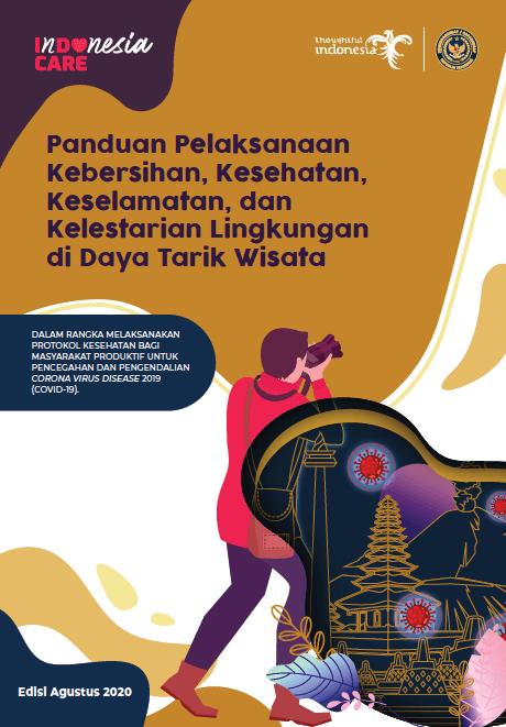 InDOnesia CARE: Panduan Protokol Kesehatan di Daya Tarik Wisata