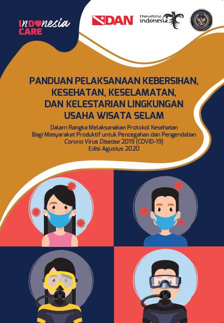 InDOnesia CARE: Panduan Protokol Kesehatan di Usaha Wisata Selam