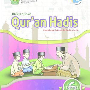Buku Quran Hadis Kelas 6 SD