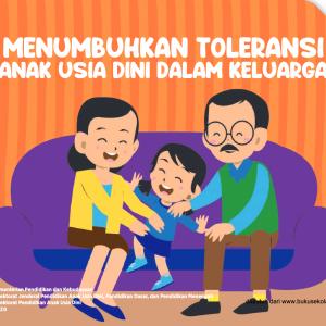 Buku Saku Orang Tua PAUD - Menumbuhkan Toleransi