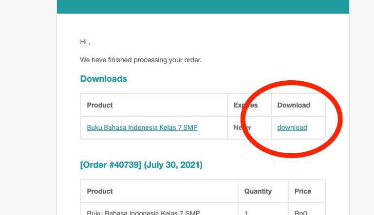download bukusekolah melalui email